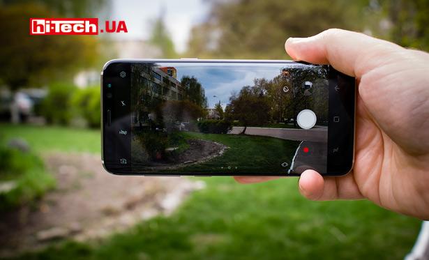 Снимаем смартфоном Samsung Galaxy S8