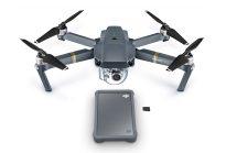 Накопитель Seagate DJI Fly Drive и квадрокоптер DJI Mavic Pro