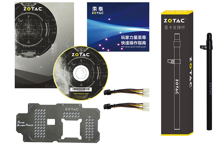 Zotac представила в КНР монструозную видеокарту GeForce GTX 1080 Ti PGF