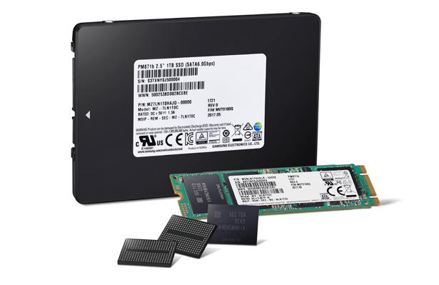 64-слойная V-NAND-память плотностью 256 Гб от Samsung. SSD