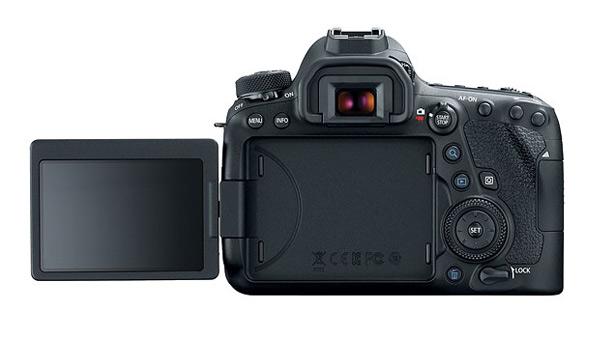 Поворотный экран Canon EOS 6D Mark II