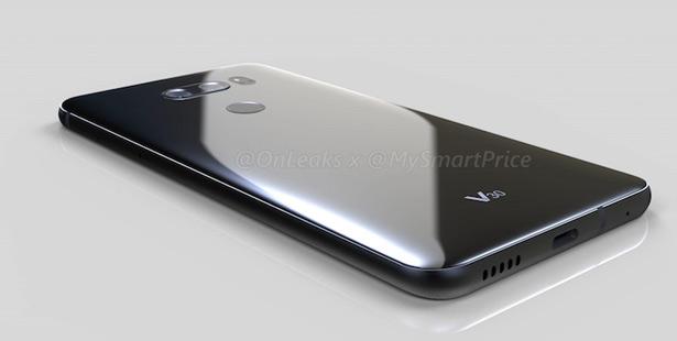 Утечки изображения LG V30