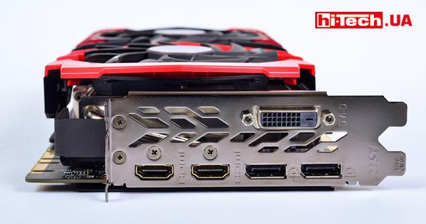 Набор видеовыходов MSI GEFORCE GTX 1080 TI GAMING X 11G
