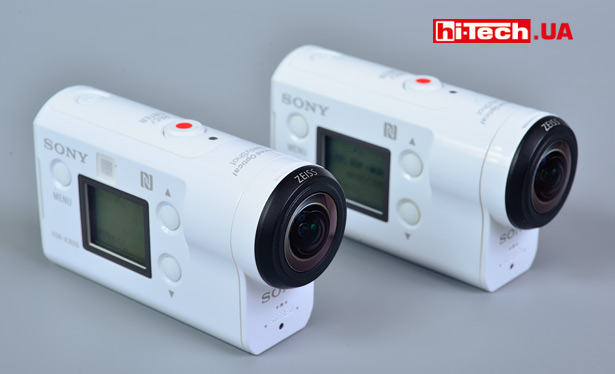 Sony FDR-X3000 и HDR-AS300