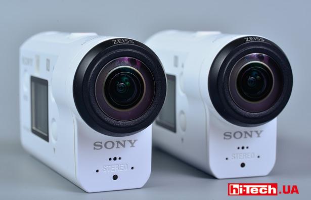 камеры Sony FDR-X3000 и HDR-AS300