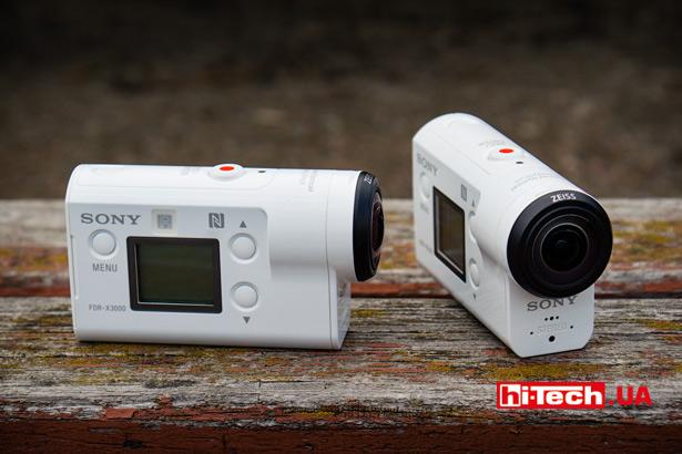 Экшен-камеры Sony FDR-X3000 и HDR-AS300