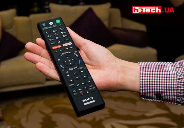 Пульт ДУ телевизоров серии Sony BRAVIA OLED A1 имеет защиту от брызг