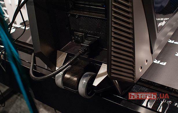 Колесики корпуса Acer Predator Orion 9000
