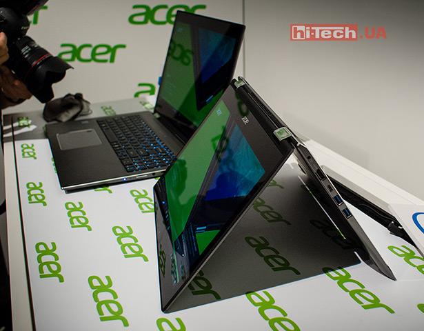 Ноутбуки-трансформеры Acer Spin 5