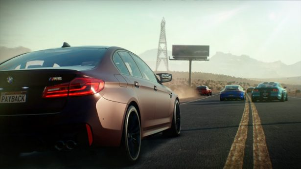 BMW M5 Need for Speed Payback 1