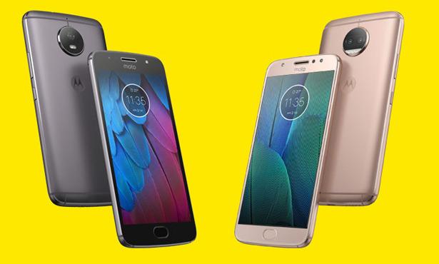 смартфоны Moto G5S и G5S Plus