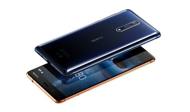 Nokia 8 Polished Blue and Polished Copper