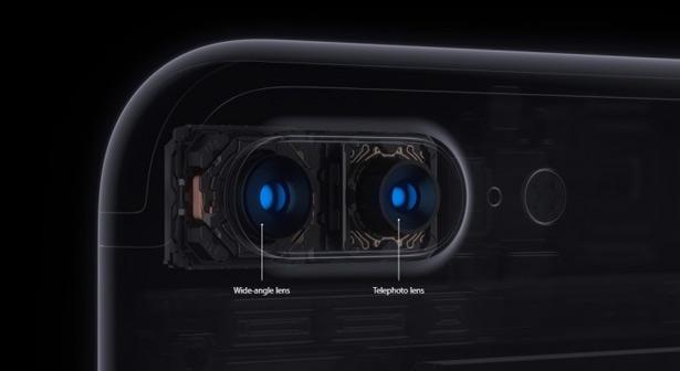 Двойная камера iPhone 7 Plus