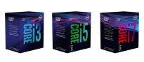 Десктопные процессоры Intel Core i3, Core i5 и Core i7 восьмого поколения