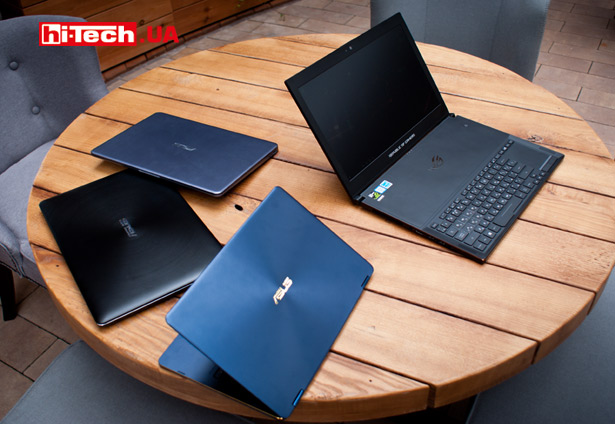 ноутбуки ASUS ZenBook Flip S, ZenBook Pro, VivoBook S14, VivoBook 14 и ROG ZEPHYRUS