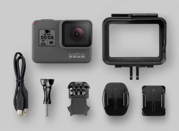 Стандартная комплектация GoPro HERO6 Black