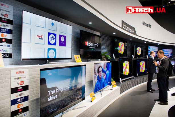Телевизоры Hisense на выставке IFA2017
