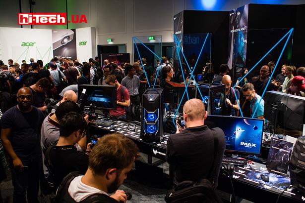 Игровые новинки Acer на IFA 2017