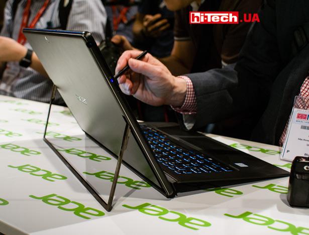 Ноутбук Acer Switch 7 Black Edition с дискреткой видеокартой и пассивным охлаждением