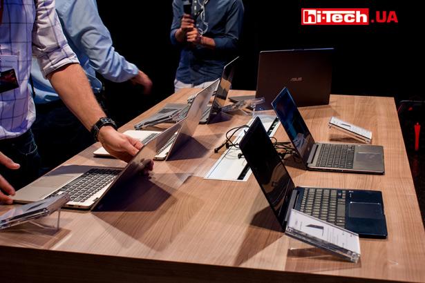 Новинки ноутбуков ASUS, основанных на Intel Core восьмого поколения