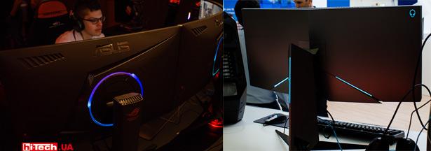 Декоративная подсветка мониторов ASUS и DELL