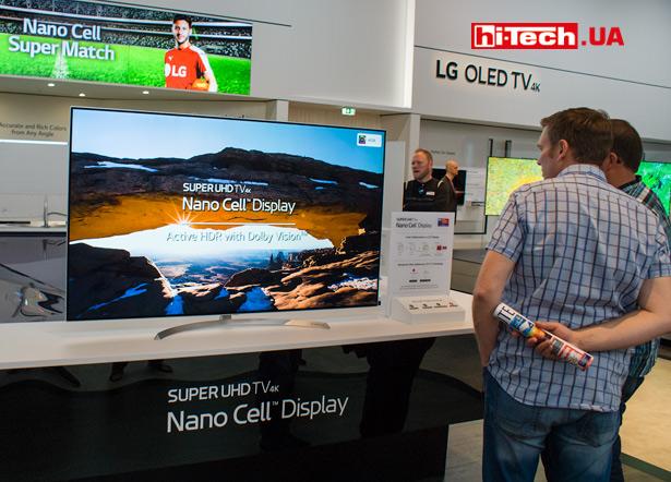 Панель LG SUPER UHD с технологией Nano Cell