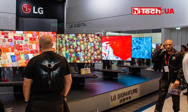 OLED-телевизоры LG серии W