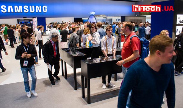 Стенд Samsung на IFA 2017