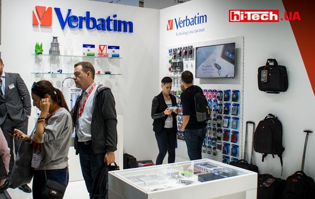 Verbatim на выставке IFA 2017
