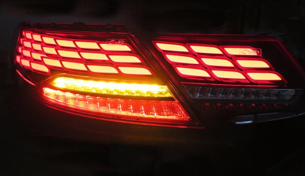 автомобильный OLED-фонарь LG