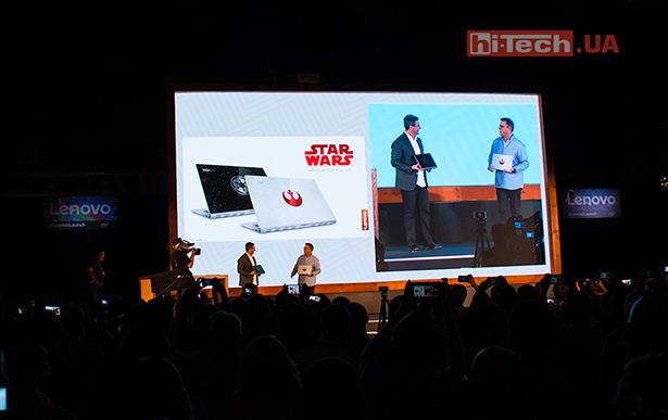 Специальные лимитированные версии Star Wars Special Edition Lenovo Yoga 920