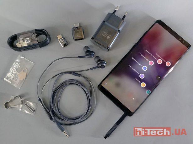 Комплектация Galaxy Note8