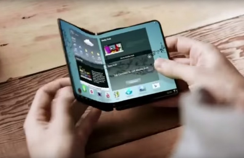 Samsung folded