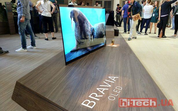 Sony Bravia OLED IFA 2017 01