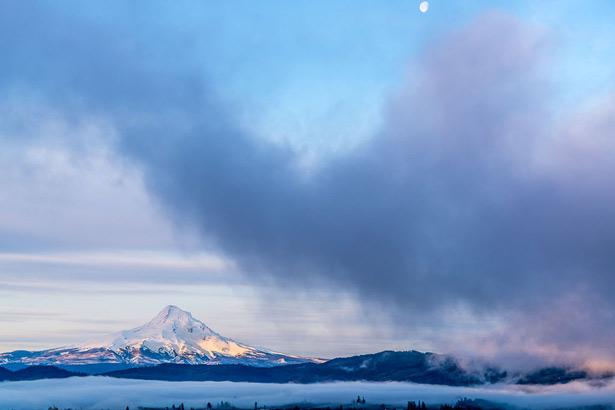 Mount Hood, Oregon. © David Franzen, Camera Raw QE