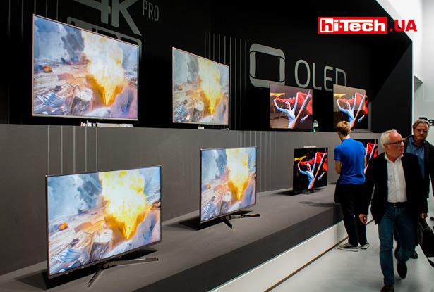 OLED-телевизоры Panasonic на IFA 2017