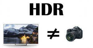 HDR в фото и телевизорах