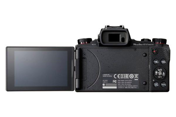 Экран Canon PowerShot G1 X Mark III