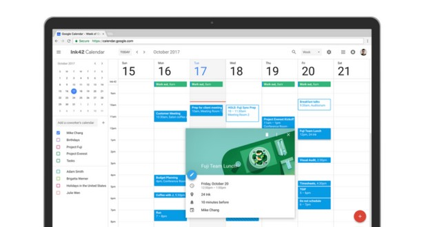Google calendar new 1