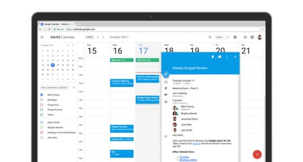 Google calendar new 2