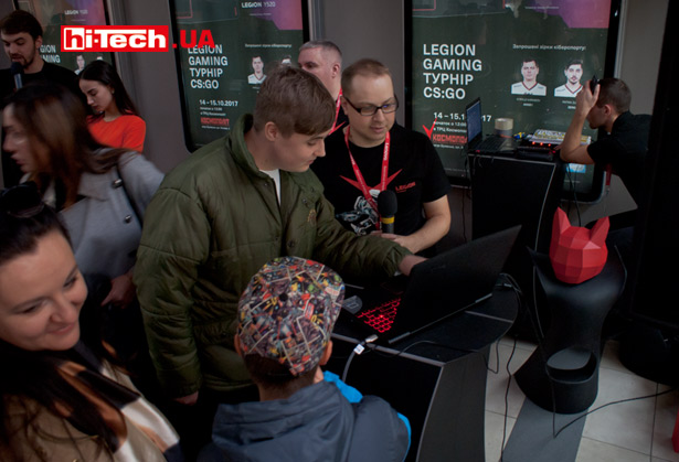 турнир Legion Gaming по CS:GO