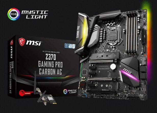 Материнская плата MSI Z370 GAMING PRO CARBON AC (серия Performance GAMING)