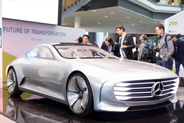 Mercedes-Benz Concept IAA GTC Europe Nvidia