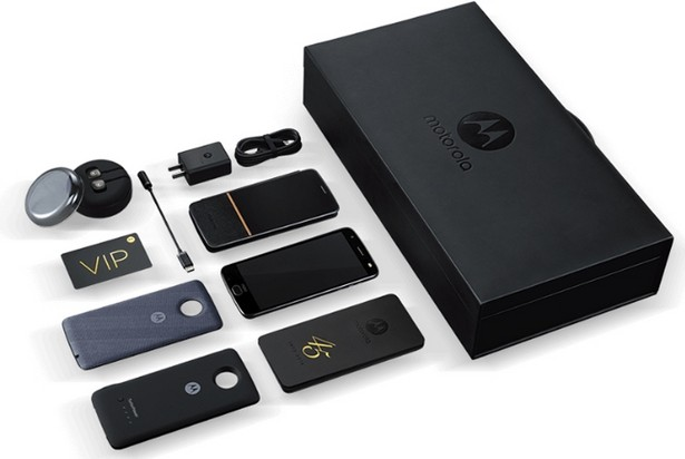 Moto Z 2018 Kingsman VIP Special Edition 3