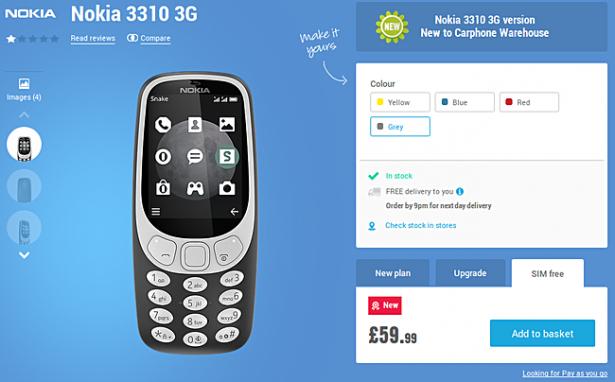 Nokia 3310-1