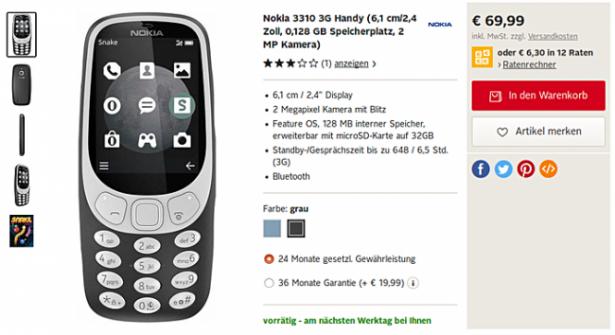 Nokia 3310-2