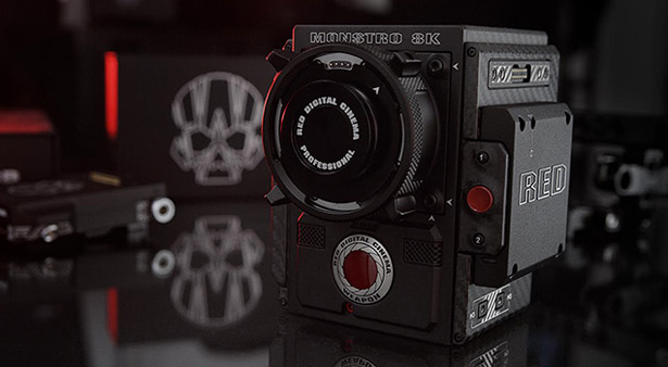 Камера RED Weapon с блоком MONSTRO 8K VV