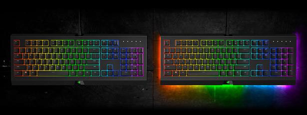 Сравнение клавиатур Razer Cynosa Chroma и Cynosa Chroma Pro