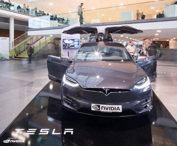 Tesla Model X GTC Europe Nvidia