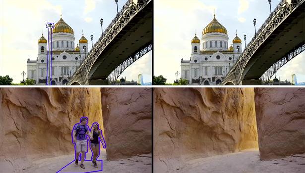 Adobe научила искусственный интеллект реалистично удалять объекты навидео
